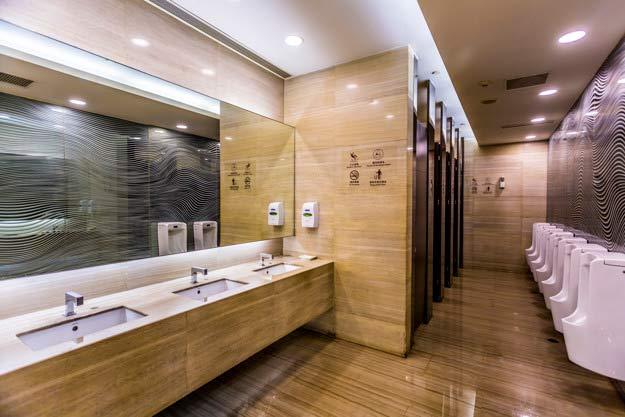 limpieza de zonas comunes y baños