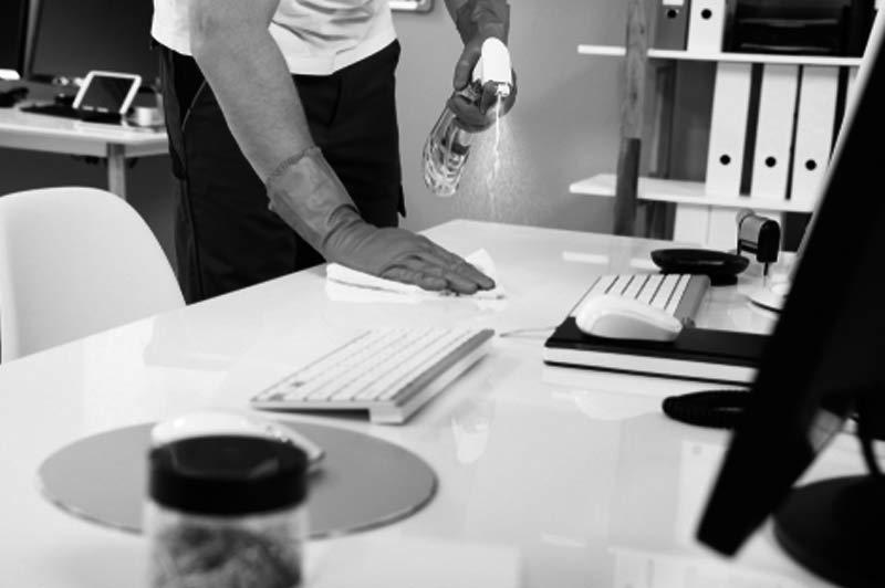 desinfeccion covid en oficinas